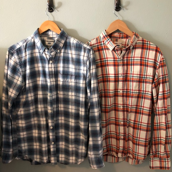 Old Navy Other - Old navy plaid casual button up shirts